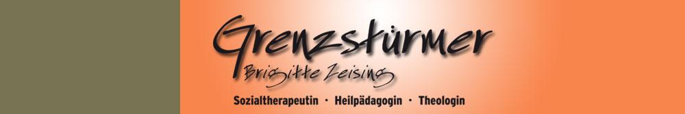 Logo Grenzstürmer Brigitte Zeising: Sozialtherapeutin, Heilpädagogin, Theologin